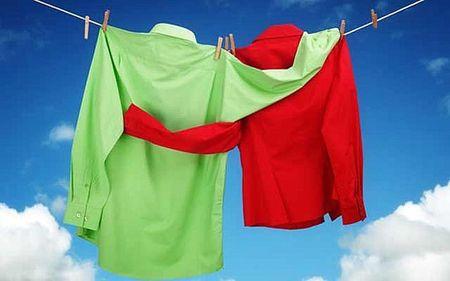Как можно быстро высушить одежду после стирки