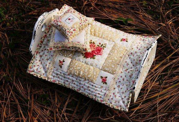 Как сшить простое лоскутное одеяло