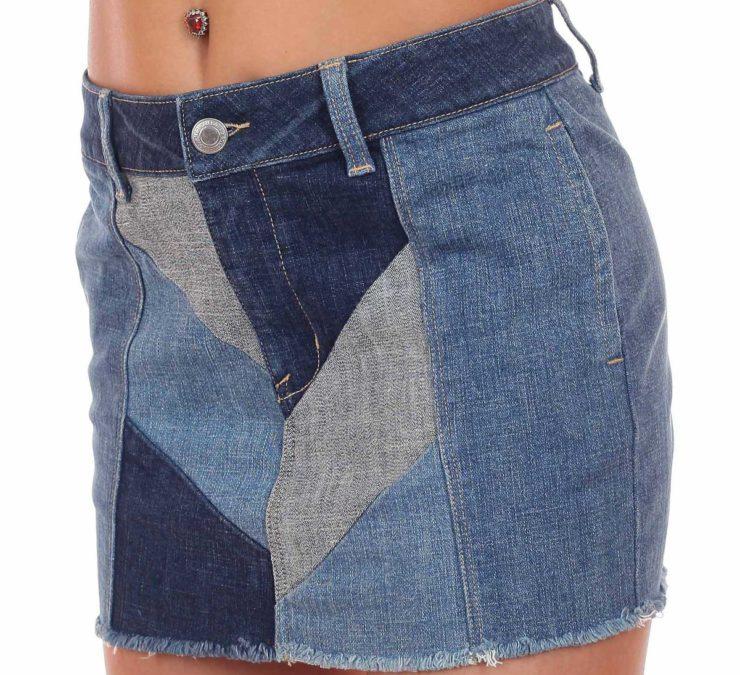 воплощения модные джинсы из старых джинсов фото можно