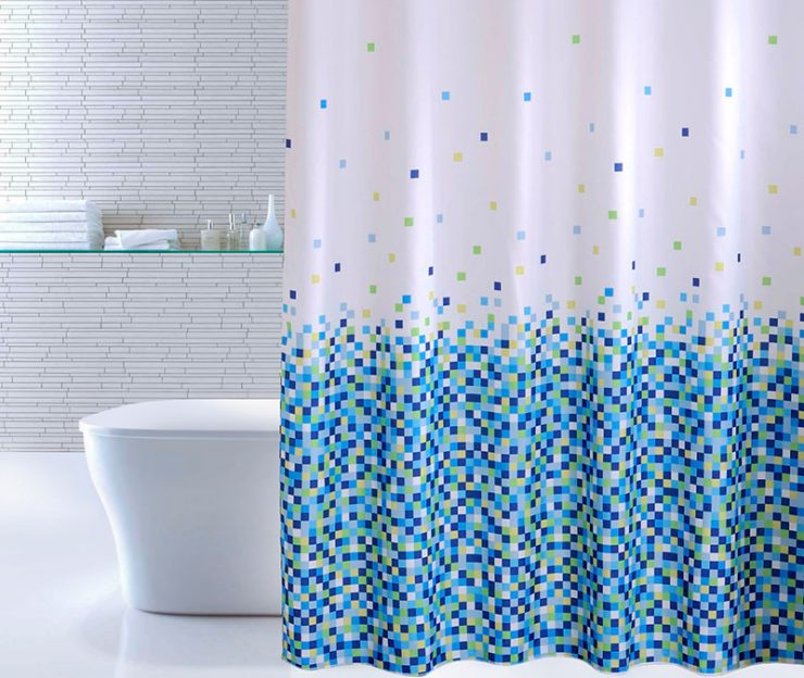 Чем очистить штору для ванной комнаты или как отстирать от пятен плесени и известкового налета